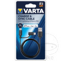 Ladekabel Varta 2in1 Micro USB & Lightning 1 Meter
