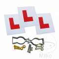 L PLATE COMPLETE KIT 2 RIGID, 1 ADHESIVE, INC FITTINGS