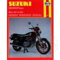 HAYNES REPAIR MANUAL SUZUKI GS1000 FOUR 1977 - 1979