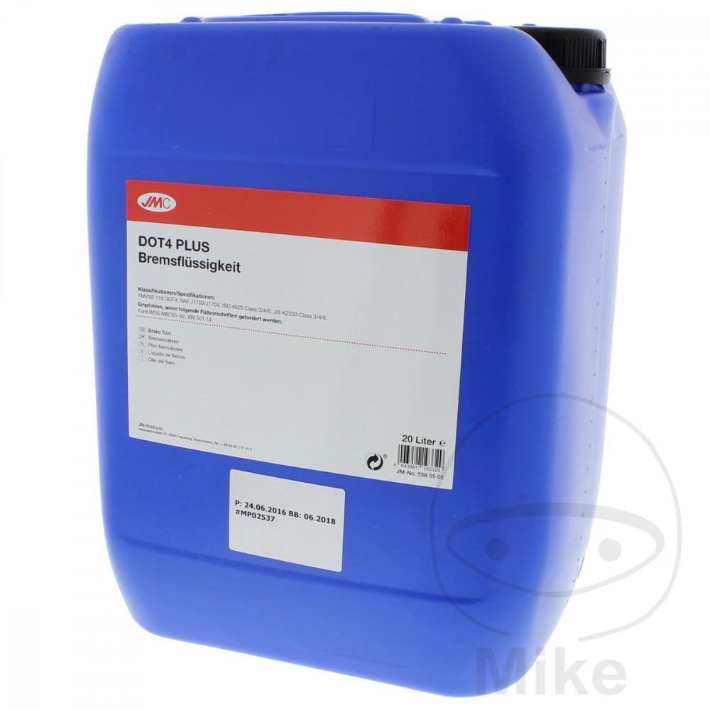 a8b514ebf44 BRAKE FLUID DOT4 PLUS 20L JMC Ablasshahn 6502007 Alternative: 5585492 |  Motomike
