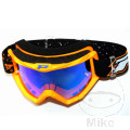 Brille Multilayered 3204 fluoreszierend orange/blau