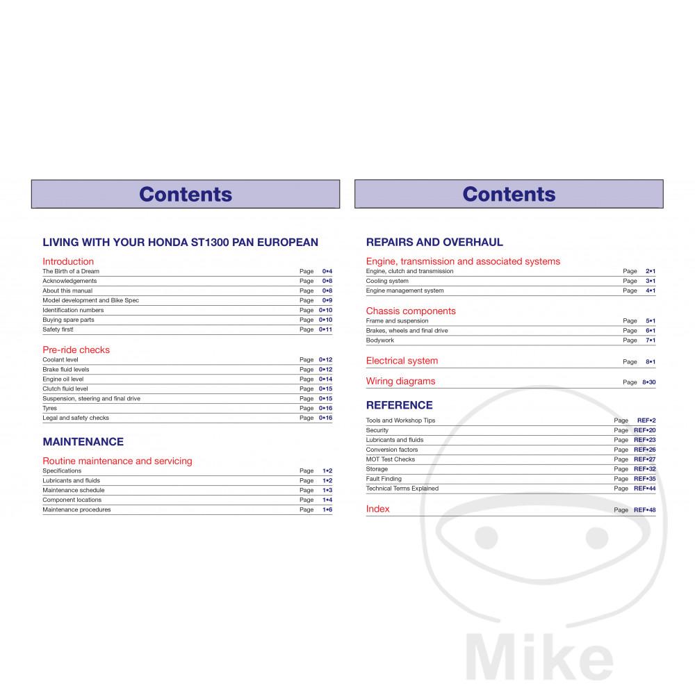 Sentinel Motorcycle Haynes Service Repair Manual 4908