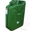 JERRY CAN 20LTR GREEN STEEL PETROL FUEL CAN