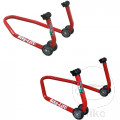 FRONT & REAR PADDOCK STANDS PROFESSIONAL USE WITHOUT ADAPTER