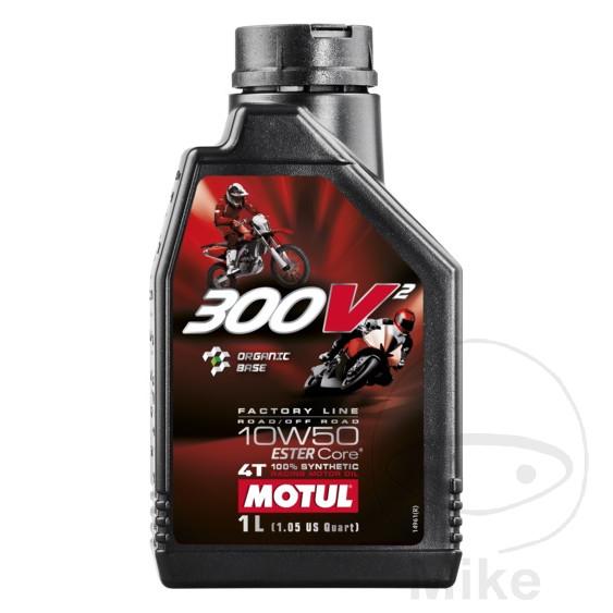 motor l 10w50 4t 1 liter motul synthetisch motomike
