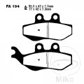 BRAKE PADS SCOOTER EBC ALTN 7872195