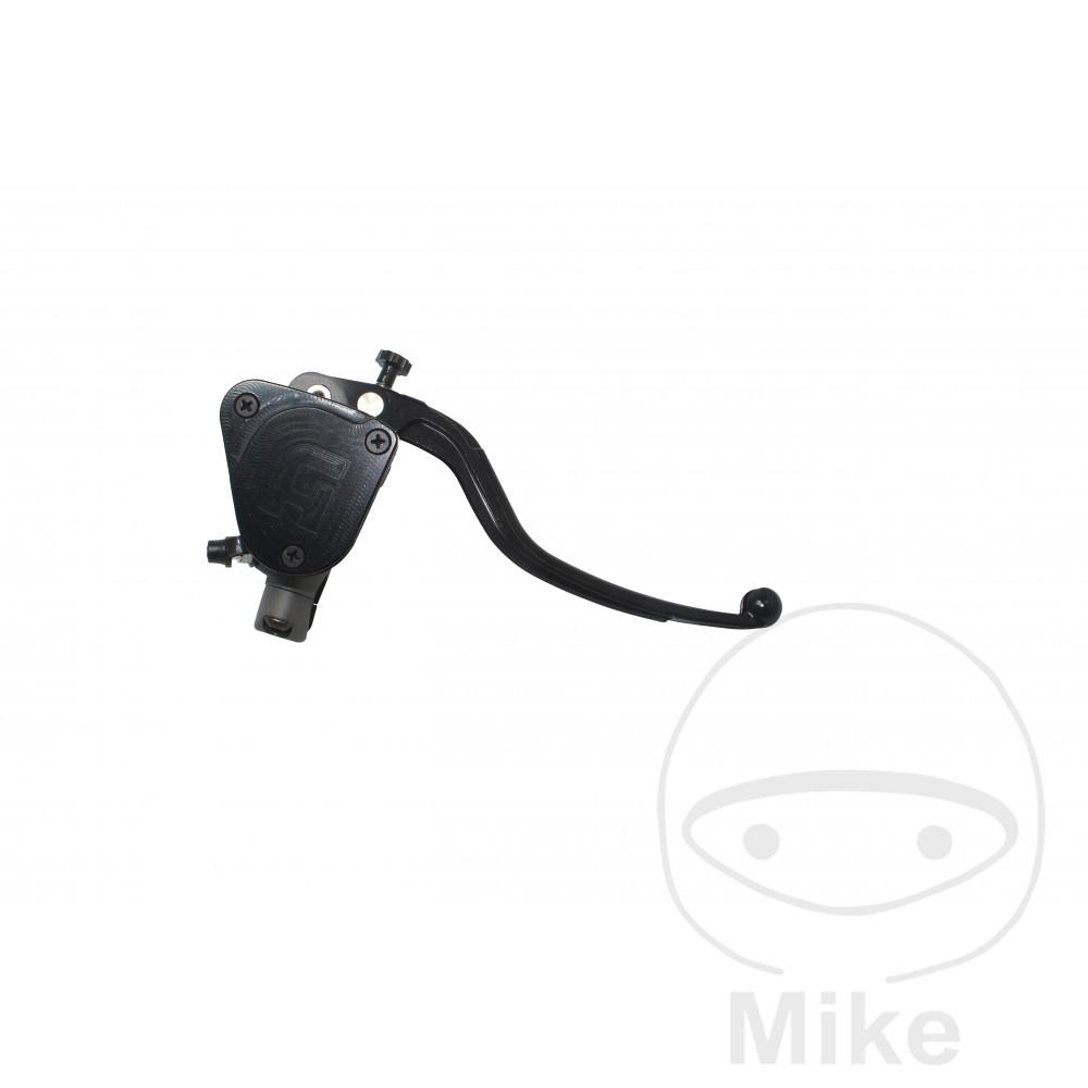 Bremsarmatur hydraulisch schwarz Accossato 16X18 Hebel für 22 mm ...