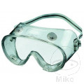 PLASTIC SAFETY GOGGLES CLEAR ANTI FOG LENS