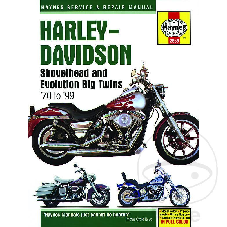 Reparatur Anleitung Harley HARLEY DAVIDSON BIG TWINS 1973-19 | Motomike