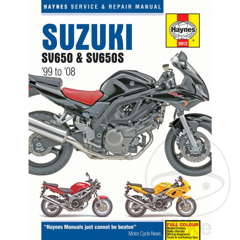 SUZUKI SV650 & SV650S (99-08)