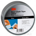 FABRIC BAND 2903 48MMX50M DUCT TAPE SILVER ALTN 5620315