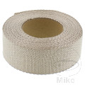 SILENT SPORT EXHAUST INSULATION WRAP 15M X 50MM BRASS COLOUR WHEN HOT