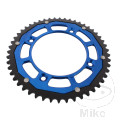 REAR SPROCKET DUAL 50 TOOTH PITCH 428 BLUE ZF INNER DIAMETER 110 BOLT SPACING 132