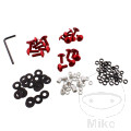 FAIRING BOLT KIT PROBOLT ALU RED