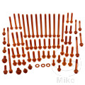 SCHR MOTOR KIT PROBOLT ALU ORANGE