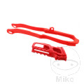 CHAIN GUIDE/SLIDER SET RED 04