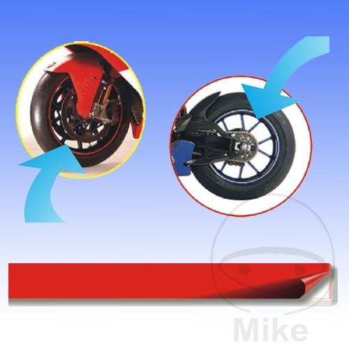 reflective strips rot breite 7 mm l nge 6m motomike. Black Bedroom Furniture Sets. Home Design Ideas