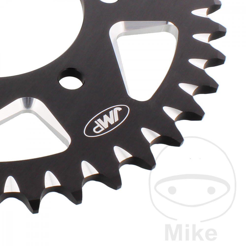 Motorcycle JMP Black Aluminium Rear Sprocket (39 Teeth)