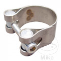 EXHAUST CLAMP 40-43mm STAINLESS STEEL LEO VINCE