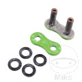 RK HOLLOW RIVET LINK GREEN 520XSO