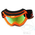 Brille Multilayered 3204 fluoreszierend rot/gelb