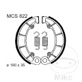 BRAKE SHOES REAR WITH SPRINGS TRW LUC