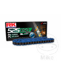 RK X-RING CHAIN BLUE 525XSO/108 OPEN CHAIN WITH RIVET LINK