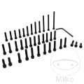 JMP ENGINE BOLT SET ALUMINIUM BLACK