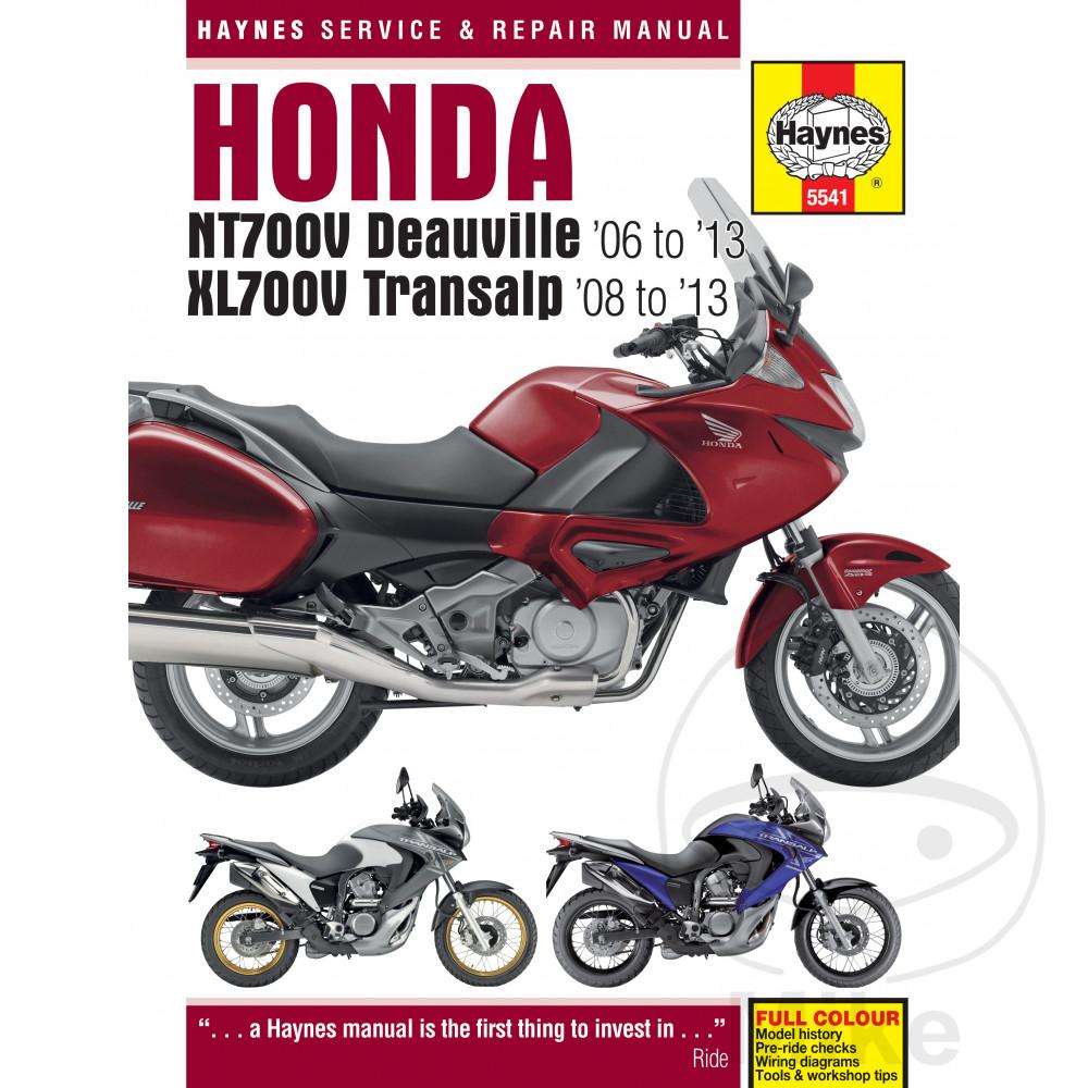 Honda Nt700 D V Transalp 06 13 Haynes Repair Manual 5541 Ebay Cagiva Elefant Wiring Diagram Sentinel Motorcycle Service