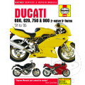 HAYNES REPAIR MANUAL DUCATI 600  750 & 900 (91-05)