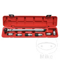 FRONT WHEEL AXLE TORQUE WRENCH TOOL KIT JMP 12-24MM & 20-110NM