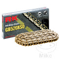 RK X-RING CHAIN GB520XSO/094 OPEN CHAIN WITH RIVET LINK
