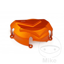 Motorschutz links Evotech orange