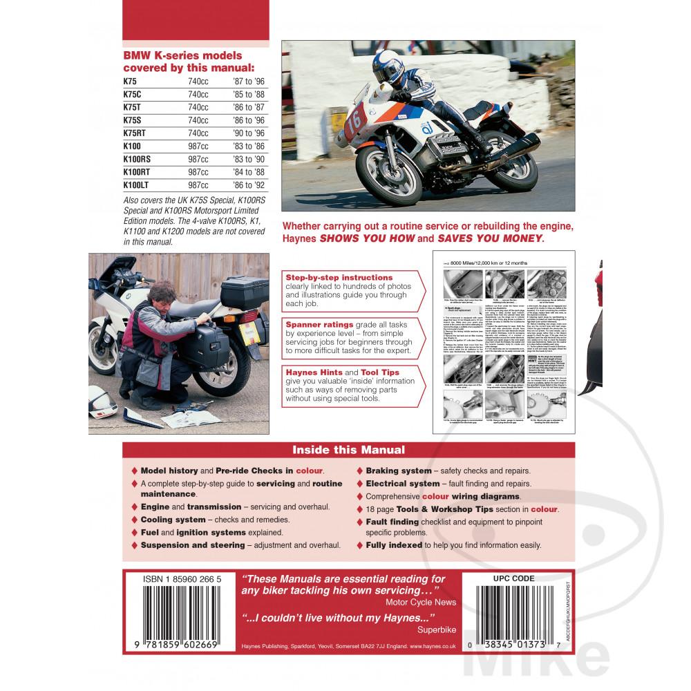 Pdf Bmw K100 Manual