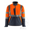 Jacke Softshell Größe XXXXL ORANGE/BLACK-BLUE
