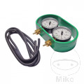 THROTTLE BALANCING VACUUM GAUGE 2 DIAL KIT JMP