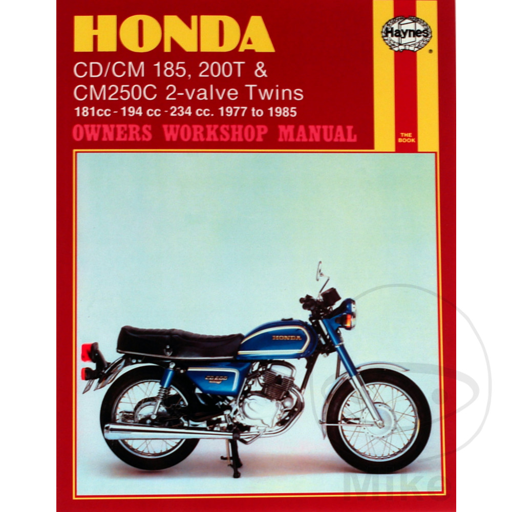 Sentinel Motorcycle Haynes Service Repair Manual 0572