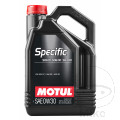 ENGINE OIL 0W30 4-STROKE 5L MOTUL SEE 7140507       10/19