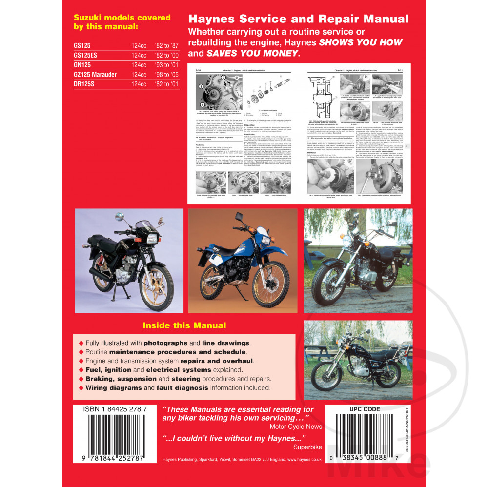 repair 125 free manual gn suzuki